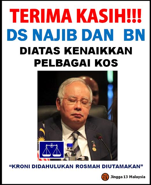 Terima Kasih DS Najib dan BN