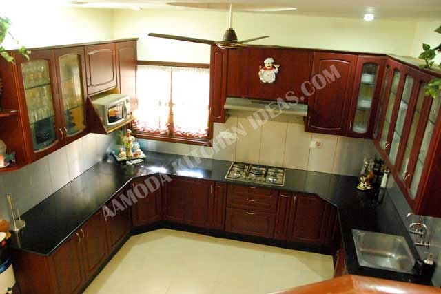 Moving the refrigerator out of the main U shape can give you more food and  cookware storage near the rangetop and ovens  Adding a kitchen island may  seem  AAMODA kitchen  U Shaped   L shaped Modular kitchen Design. U Shaped Modular Kitchen Design. Home Design Ideas