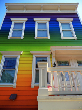 Exterior House Colors Rainbow House_b3079a0eb6c3f25c0cfcaee6aba72583