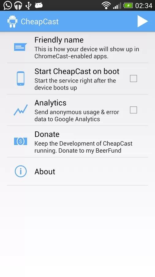 CheapCast v0.3.7-BETA