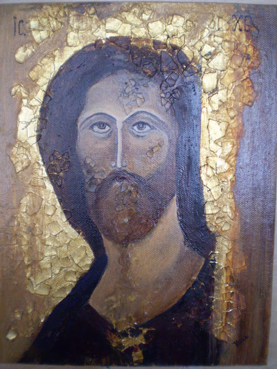 icon, THE SAVIOUR, copy the work of Andrei Rublev