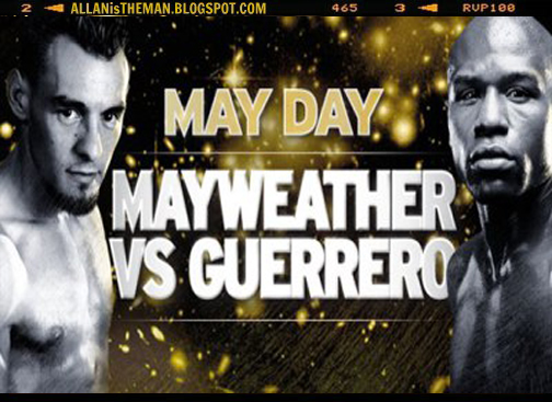 Mayweather Jr. vs Guerrero Fight Replay