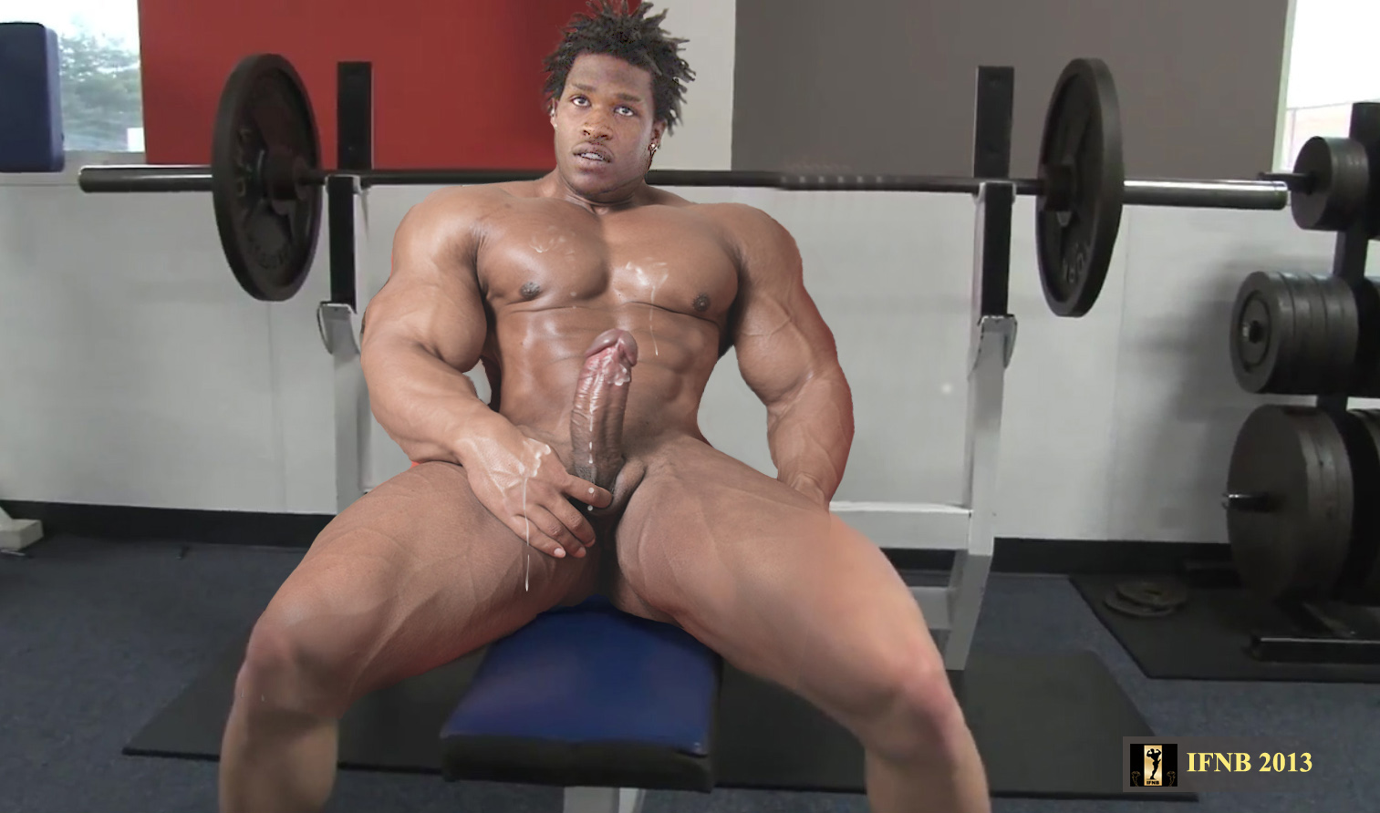 from Rashad gay muscle bodybuilder