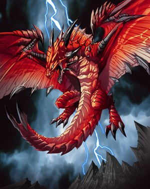 MY DRAGON OF  FIRE