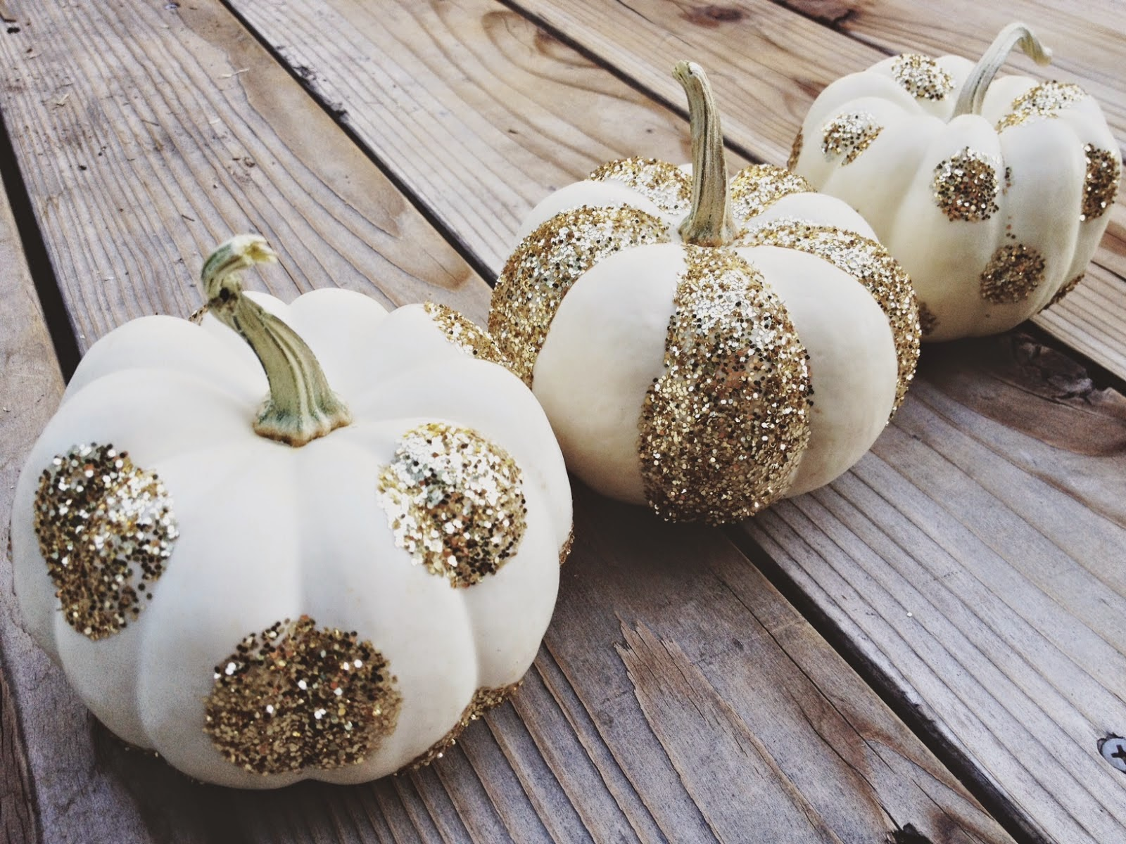 Diary Of A Fit Mommy Diy Glitter Pumpkin Tutorial