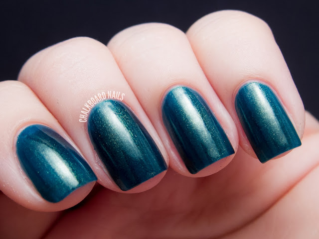 Chalkboard Nails: Contrary Polish Greenhouse