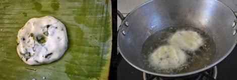 how to make  keerai vadai