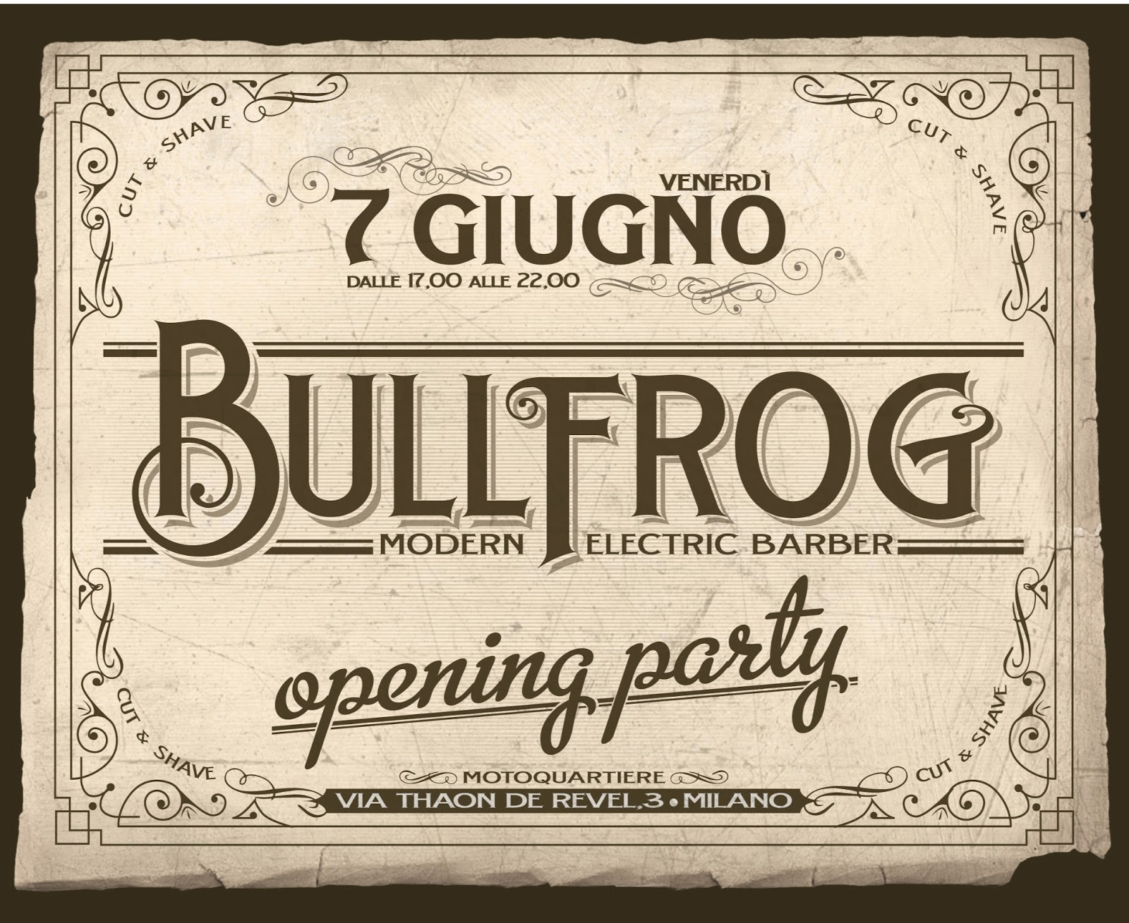 BULLFROG opening party