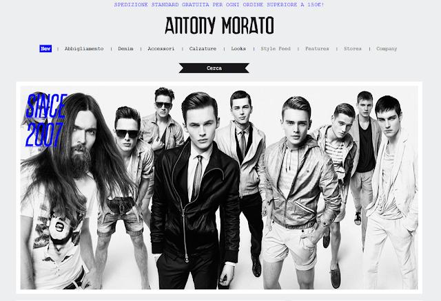 Antony Morato - Abbigliamento da uomo di tendenza! Risparmiare Online
