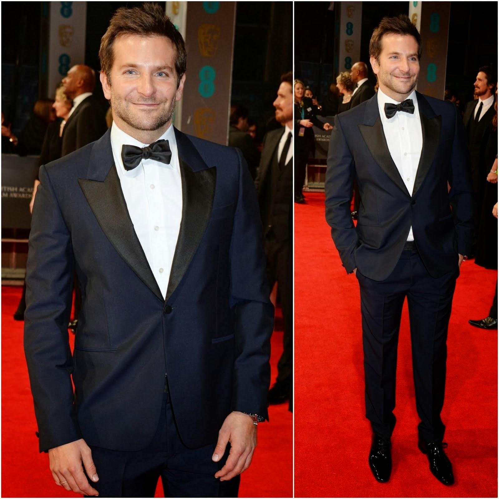 Bradley Cooper in Alexander McQueen - BAFTAs 2014