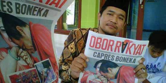 Tabloid Obor Rakyat - Capres Boneka