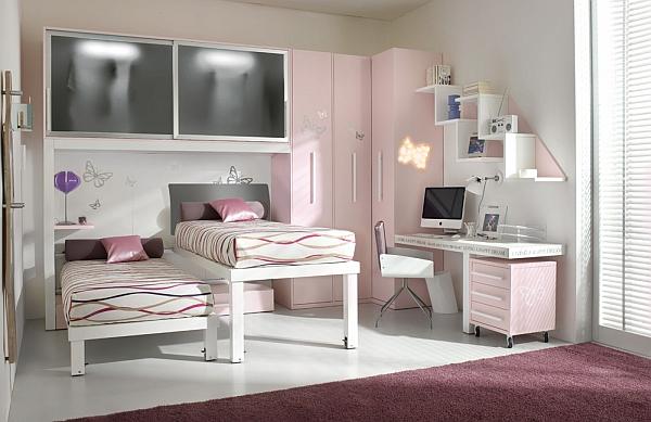 Dormitorios para hermanas adolescentes dormitorios con Dormitorios adolescentes