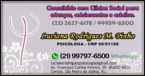 => Psicóloga em São Pedro da Aldeia e em breve Cabo Frio.