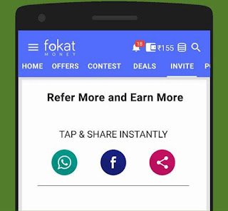 fokat recharge app refer and earn