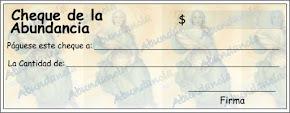 Cheque de Abundancia, ritual de luna nueva (miércoles 24 de septiembre)