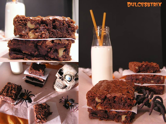 Brownies en halloween