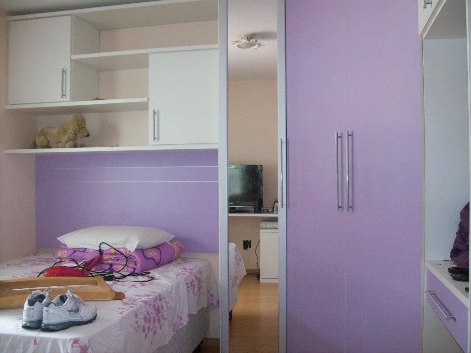 : Armário em L com cama embutida tendo também bancada para PC #654134 1600x1200