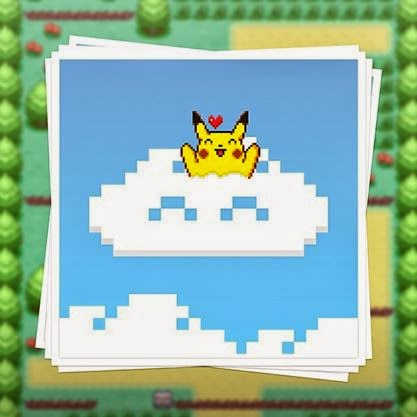 Cloud artist pikachu