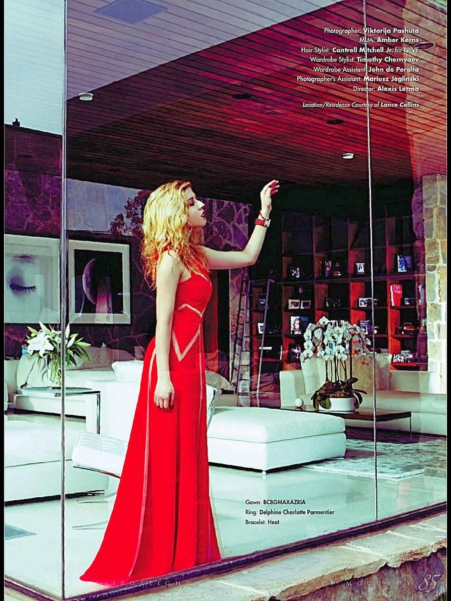 Magazine Photoshoot : Jennette Mccurdy Photoshot For Runway Magazine Winter 2014 Issue
