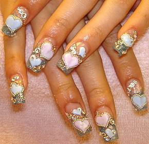 Beauty best nail art beautiful creative nail art designs beautiful creative nail art designs prinsesfo Gallery