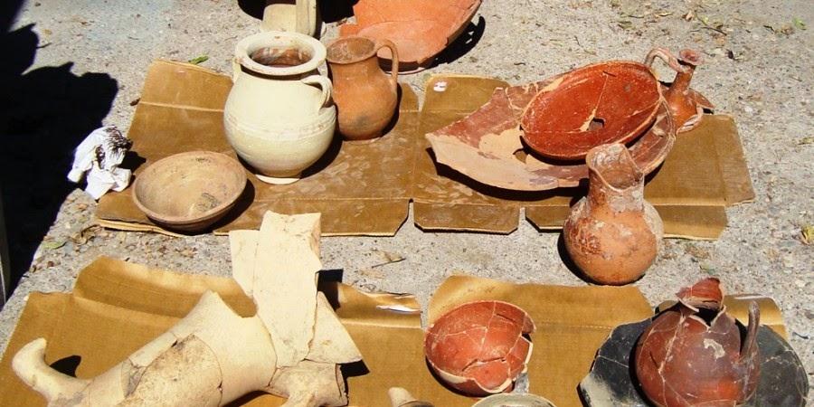Νέα Πάφος ευρήματα Κύπρος πηγάδι