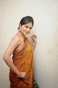 Madhumitha sizzling pics in saree-thumbnail-14