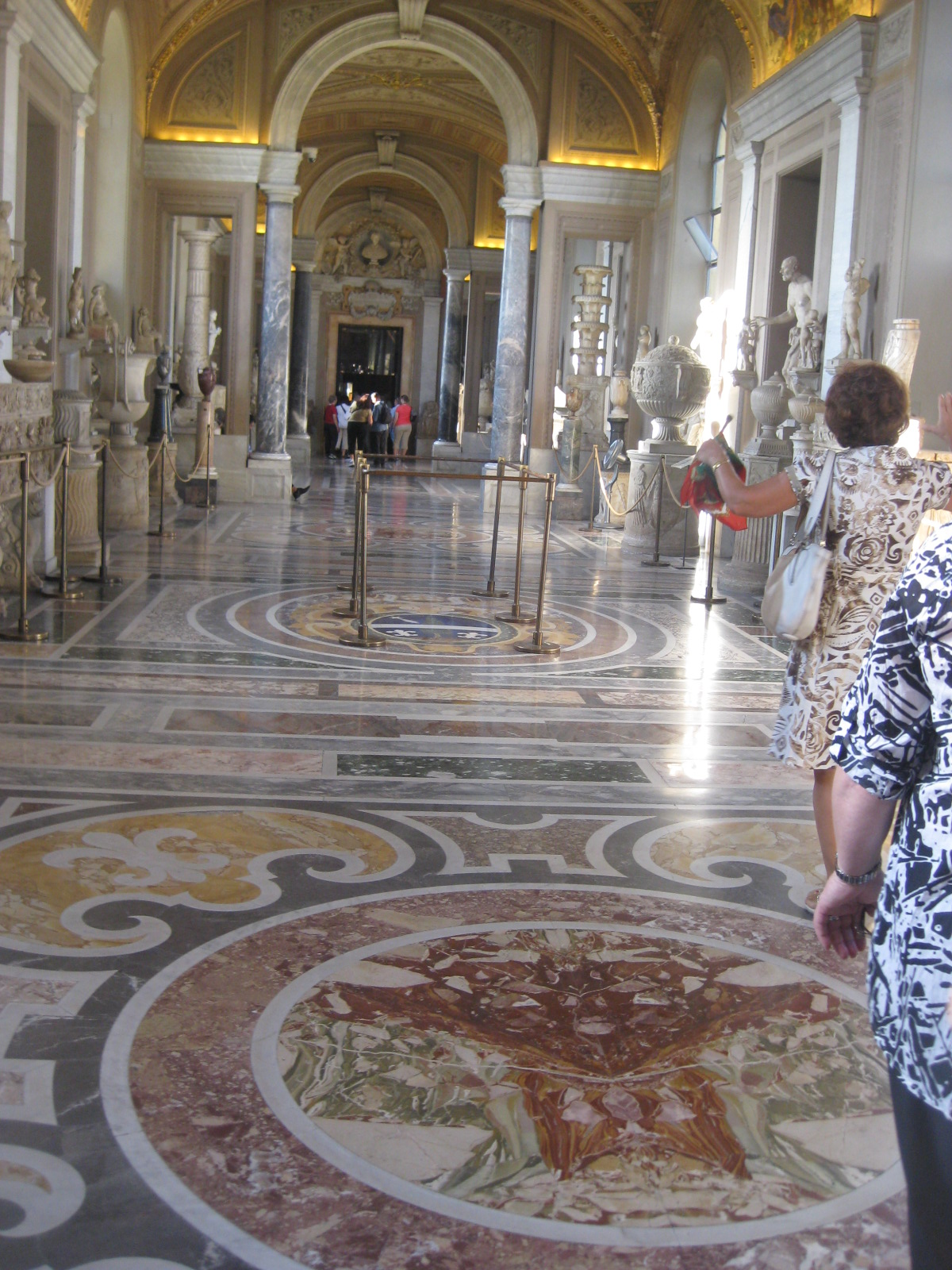 Gaze At The Beautiful Marble Floors