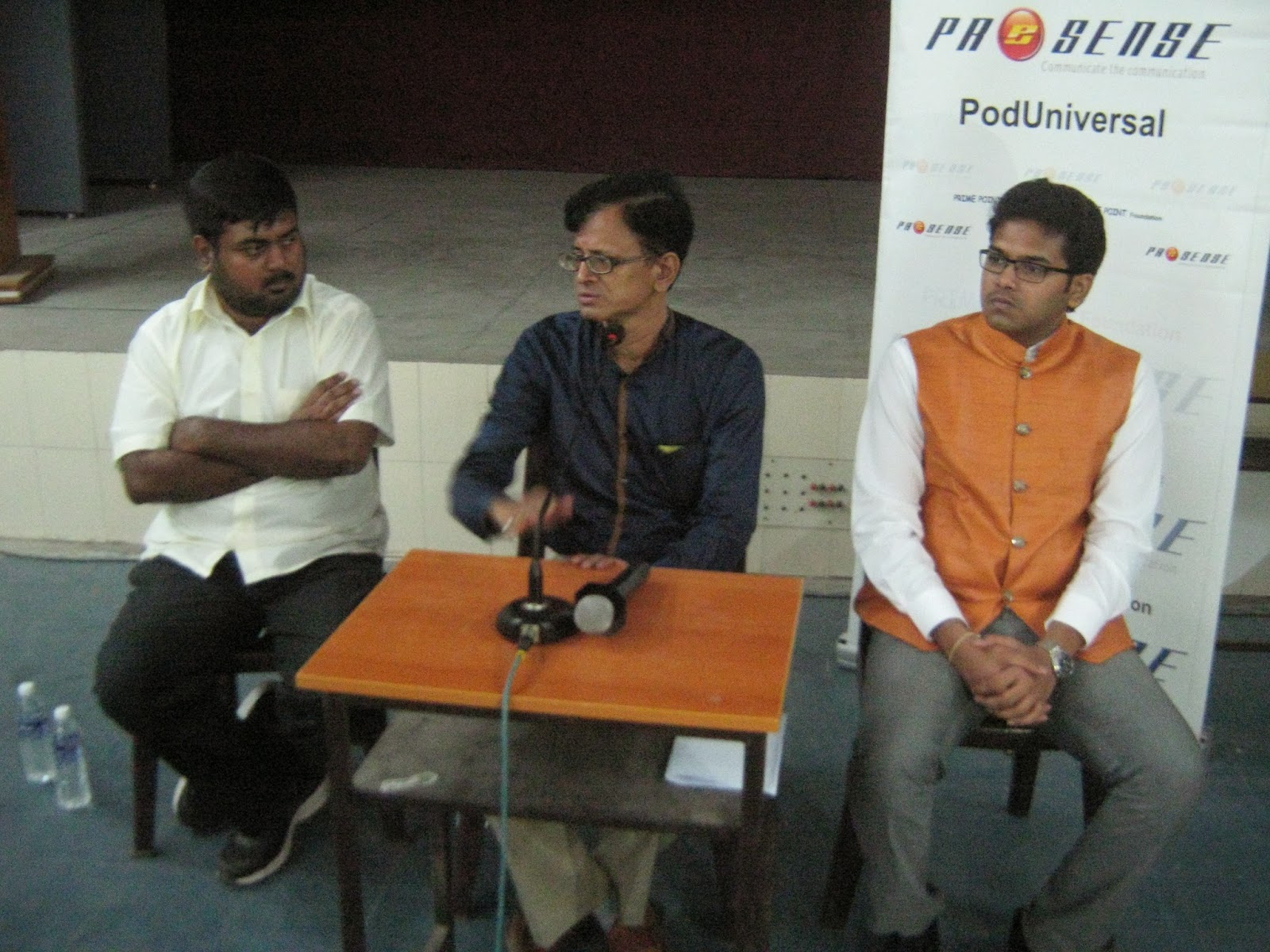 L to R : Kumar Rajendran, Srinivasa Prabhu and Prithvi