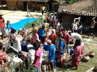 desa, kecamatan, karangrayung, grobogan, bencana, air bersih