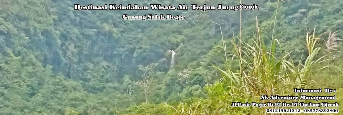 Wisata Curug Ciorok Cipelang  & Curug  Putri Pelangi Palasari Cijeruk Bogor yang indah dan alami