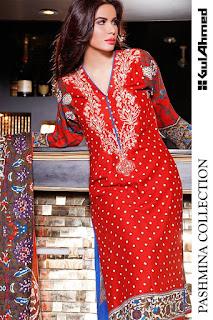 Pashmina Gul Ahmed New Dresses