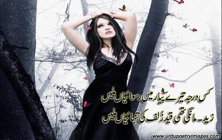 two lines urdu sad poetry for quottanhaquot urdu poetry sms