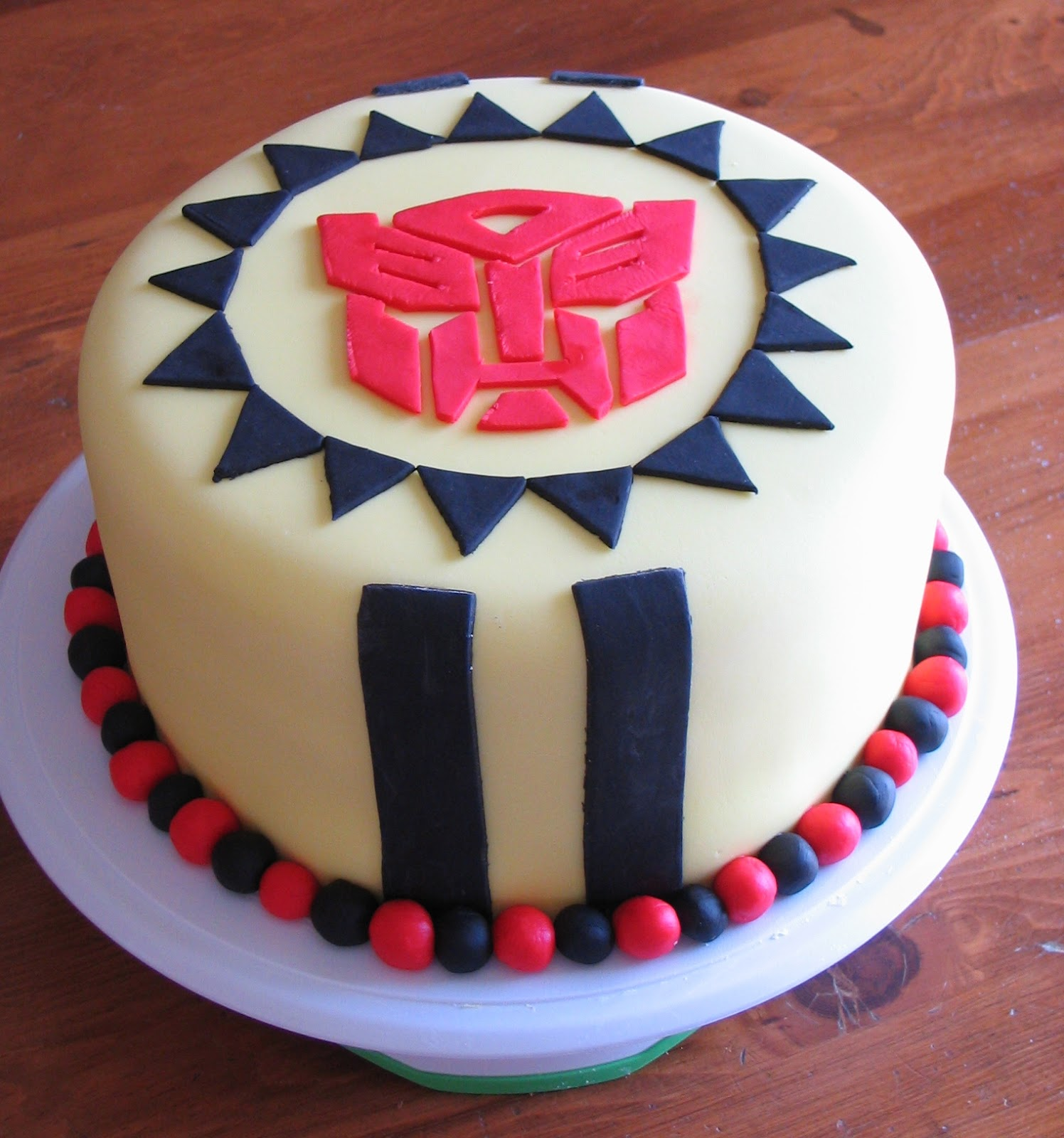 my cakes creations and more transformers cake