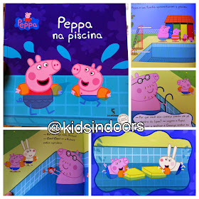 Kids indoors peppa na piscina for Piscina de peppa pig