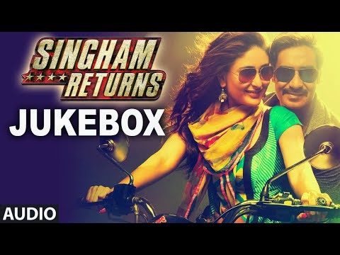 Singham Returns (2014) Full Audio Jukebox