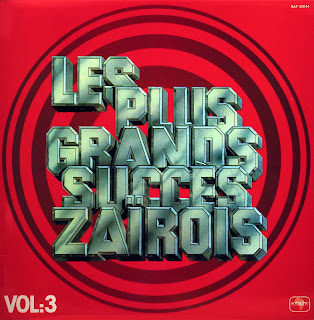 Les Plus Grands Succes ZaГЇrois, vol.3 -Various Artists, Sonafric 50044, 1977