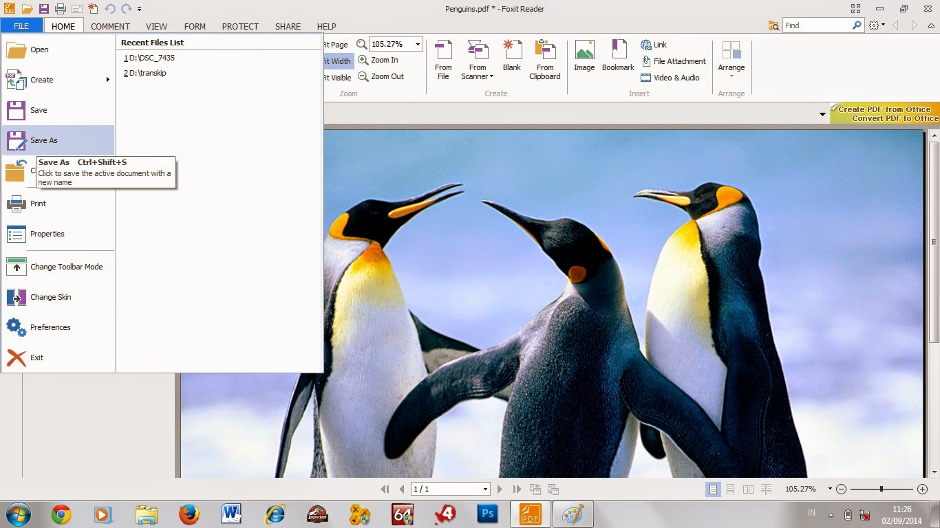 Cara mudah Convert file gambar semua format menjadi file .pdf Lengkap dengan gambar