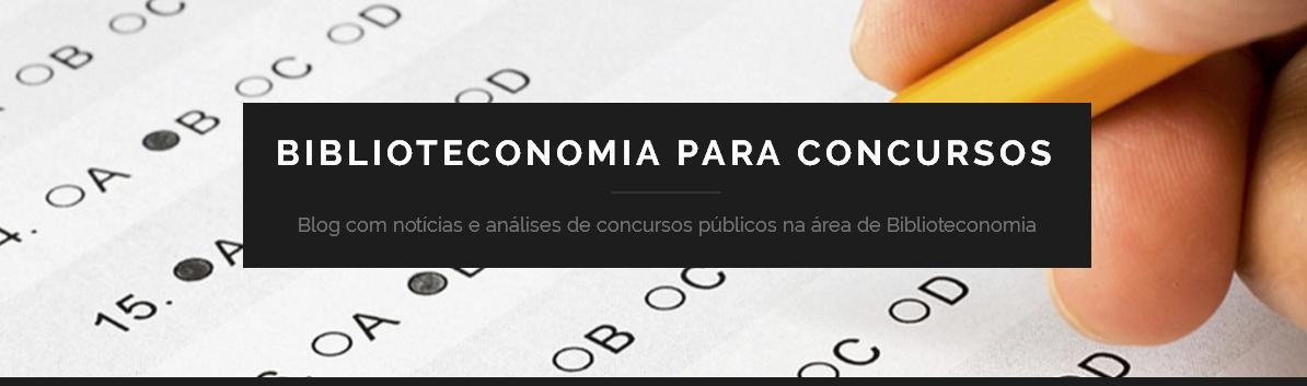 Biblioteconomia para Concursos