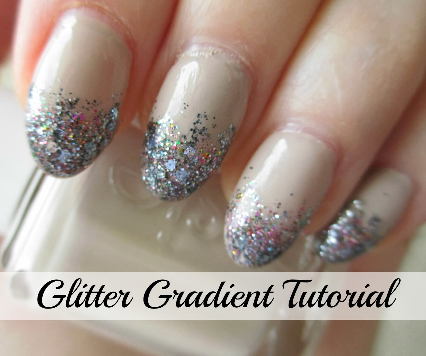 Glitter Gradient Nail Polish Tutorial | @girlythingsby_e | Beauty ...