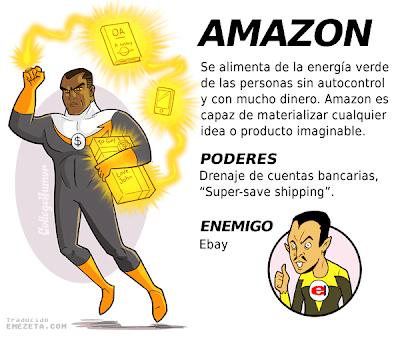 Imagen de la liga de la justicia de internet - SuperHeroe Amazon