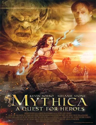 Ver Mythica: A Quest for Heroes (2015) Online