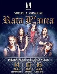 RATA BLANCA EN ASUNCIÓN (PARAGUAY) (Lugar a confirmar) - 15/08/2015