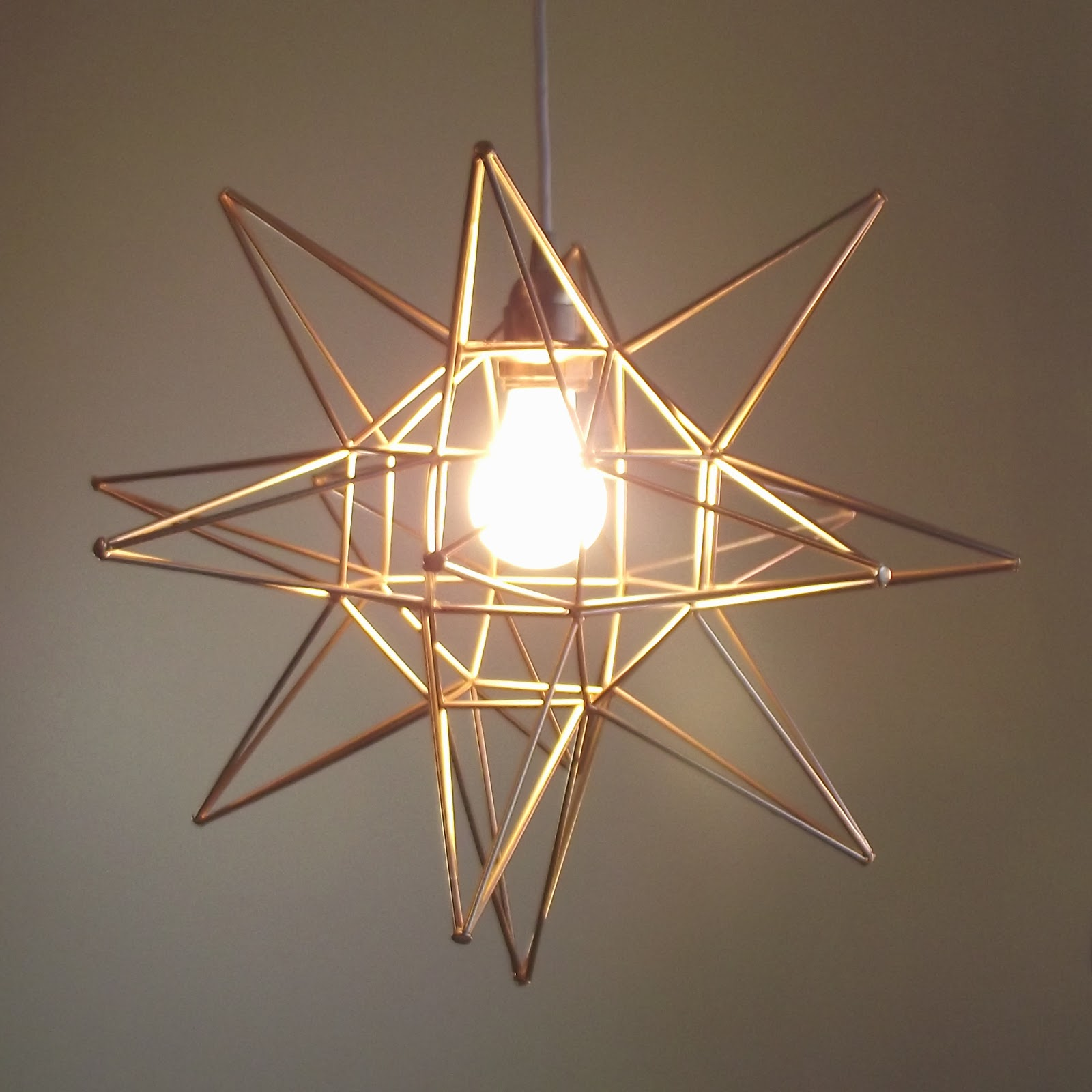 diy geometric moravian star pendant light oof thatu0027s a mouthfull - Star Pendant Light