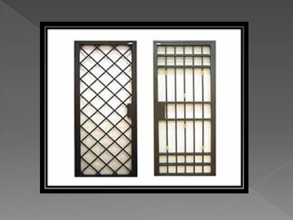 Rejas para puerta reja de seguridad para ventana para for Verjas para puertas