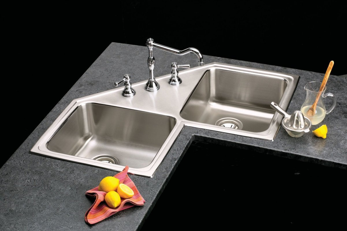 Modern corner kitchen sinks - Corner Kitchen Sinks