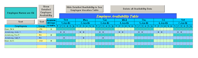 shift scheduling software | Easy Calendar Schedulers