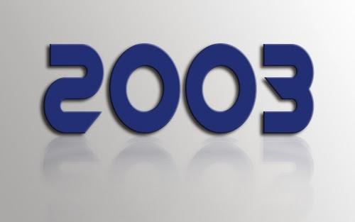 المذكرات الوزارية لسنة 2003