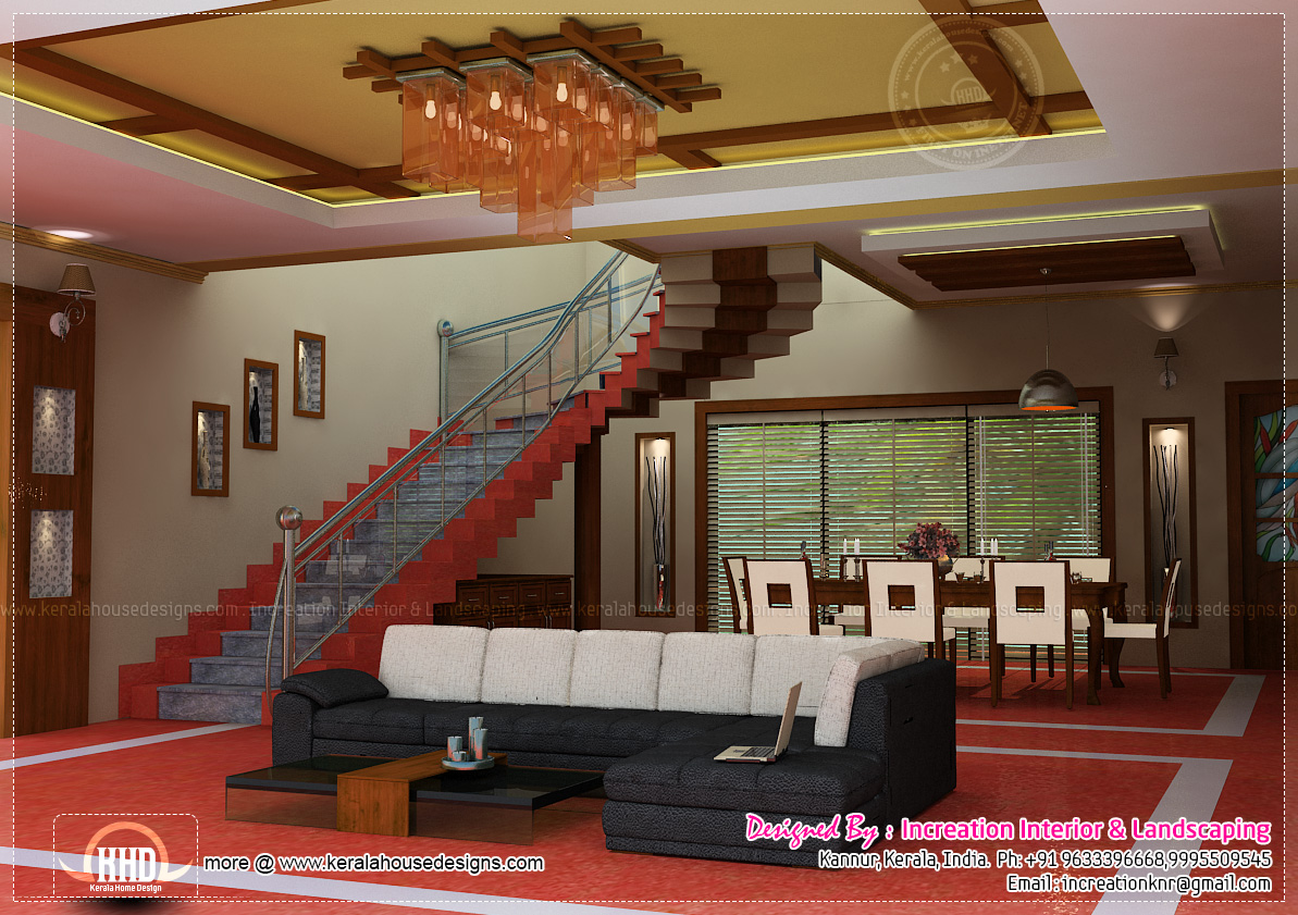 Interior design ideas for homes kerala home design and for Kerala homes interior designs