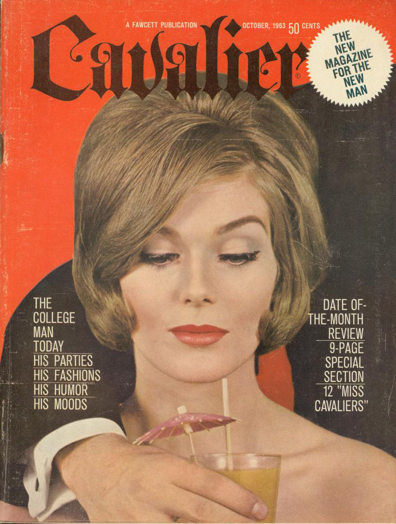 CAVALIER Vintage Mens Interest Pin Up Magazine June 1963 - Roman Romp in the Sun