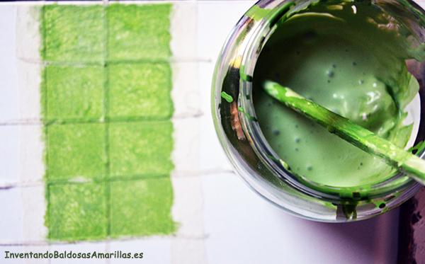 receta chalk paint casera pintura pizarra